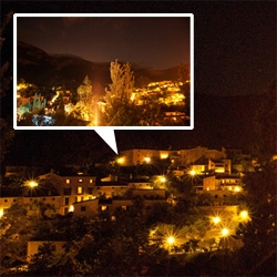 La Residencia, Mallorca at night ~ a look at the stunning star studded night sky from the patio. Day one of my Orient Express escape amidst this chaotic euro-trip.