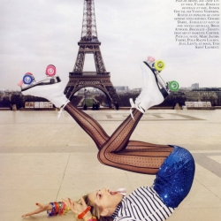 The Paris of my dreams is pretty well represented in this A Toutes Jambes editorial shot by Terry Richardson and art directed by Emmanuelle Alt for Vogue Paris June/July 09.
