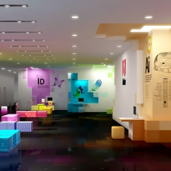 honchaymoi's conceptual vision of what Adobe's offices might look like.