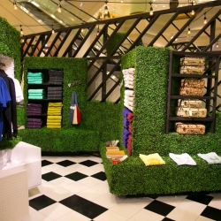 Nordstrom launched a series of 'pop-in' shops by creative director Olivia Kim, inspired by French Style.
