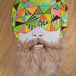 Beard Revue has begun aggregating the best beard art on the web in a new monthly feature.