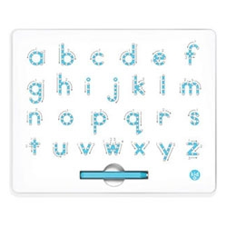 Magnatab by Kid O - Trace the lines with the magnetic stylus and follow the arrows to learn the fundamentals of number and letter writing.