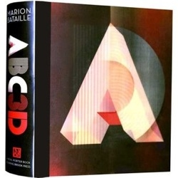 ABC3D by designer, Marion Bataille is a typographic pop-up book.  There's a video showing all the pop-up action.  My coffee table needs this book.