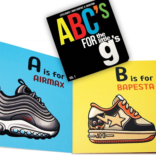 ABCs for the Little Gs - an adorable sneaker filled board book by Little Giants