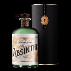 Alcohol packaging gurus, Stranger & Stranger have concocted their 12th Christmas Spirit, and this year it is a deliciously beautiful Absinthe! See packaging details!