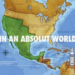 Big time controversy and calls for a boycott after Absolut runs an ad in Mexico depicting the country's borders prior to the American-Mexican War of 1848.
