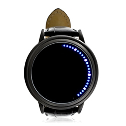Interesting LED / touchscreen enabled 'Abyss' watch.