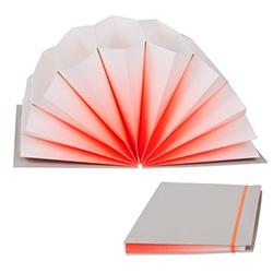 Hay & Scholten & Baijings' Plissè Archive Accordion Folder - love the surprising burst of color as it opens!
