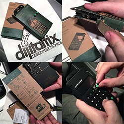 Unboxing the Teenage Engineering Pocket Operator (PO-12 rhythm) - it's even more beautiful, well designed, and fun in person... and the packaging! Brilliant!