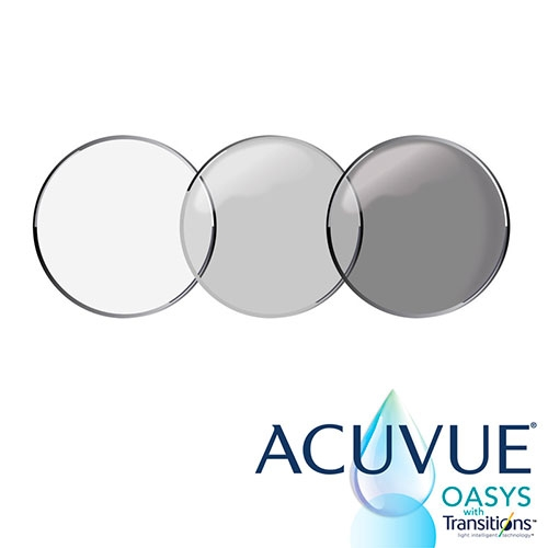 Contact's that can now transition? Johnson & Johnson Vision launches ACUVUE OASYS with Transitions Light Intelligent Technology