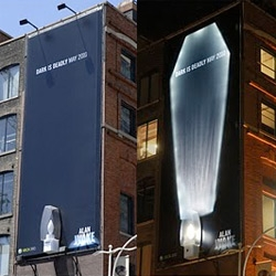 Brilliantly disturbing billboards and bus shelter ads by McLaren McCann for Alan Wake