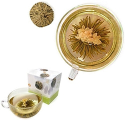 check out these ADAGIO Display Teas - pretty, no?