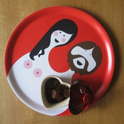 ISAK ~ some great accessories with fun playful graphic design... wallpaper, plates, trays, books and more.
