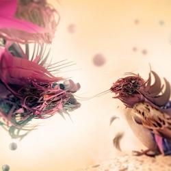 Absolutely spectacular new work from Polish designer and digital illustrator Adam Spizak.