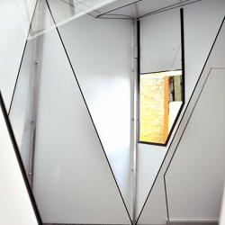 'Fold Flat Shelter' was created by Adrian Lippmann, founder interior design firm form-al.