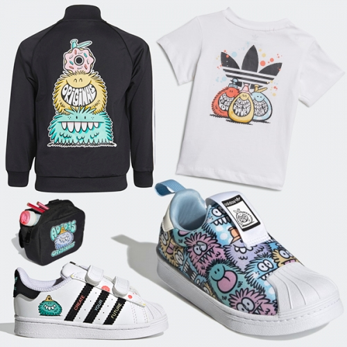 Kevin Lyons Adidas Originals Kids Collection! Cutest monsters...