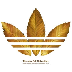 TBWA\Germany made this clever ad for announce the last Adidas fall colletion.