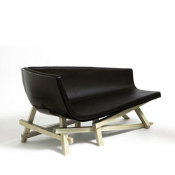 Adna Chaise designed by David Weeks and manufactured by Mattermade.