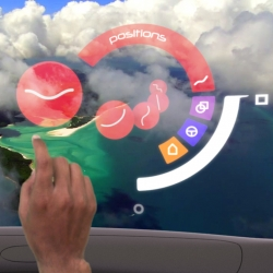 In collaboration with Dassault Systems, designer Michaël Harboun explores the use of augmented reality inside vehicles.