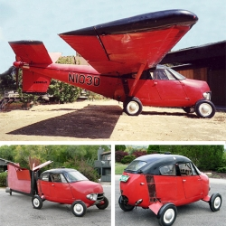 1956 Flying Plane Car, so awesome!