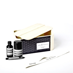 Magdalena Czarnecki's packaging for a great gift box by Aesop.