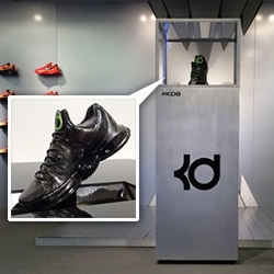Nike Kevin Durant Ferrofluid Shoe Display by Guild brings together 3D printing, ferrofluid, magnets, and motors to bring it all to life. Fun idea - crazy loud motors in the video!
