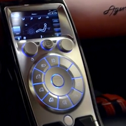 Drive TV's latest episode of Inside Koenigsegg; Feels Like a Million Bucks is all about the interior. Their ghost buttons and steering wheel construction are fascinating.