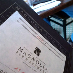 Pulled Pork Poutine ~ Devils on Horseback ~ and a peek at the awesome menu of Magnolia Gastropub & Brewery in San Francisco ~ a long time NOTCOT favorite.