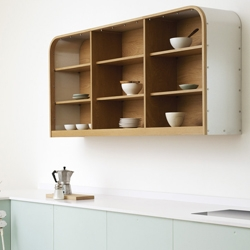 Air by deVOL. A modern kitchen range inspired by some of the most innovative and beautiful creations of the last century.