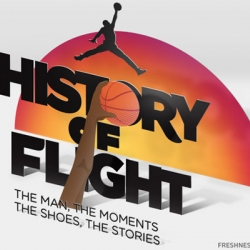 Air Jordan History of Flight Feature - The Man, The Moments, The Shoes, The Stories
