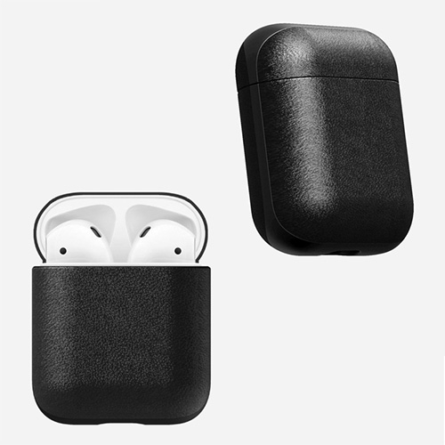 Nomad introduces a leather AirPods 'Rugged Case' made of Horween leather and polycarbonate.