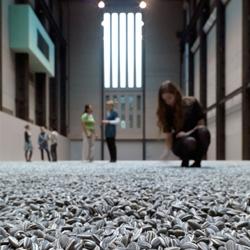 Ai Weiwei's Sunflower Seeds at the Tate Modern.