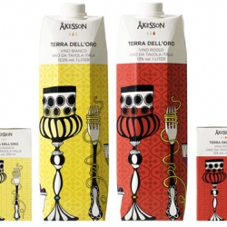 Pretty and practical wine packaging from Sweden.