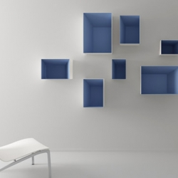 The Altavoz modular shelf system by the spanish designer Carlos TISCAR