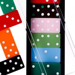 Acrylic Domino Set ~ designer:Baron Alessandro Albrizzi - design year: 1969