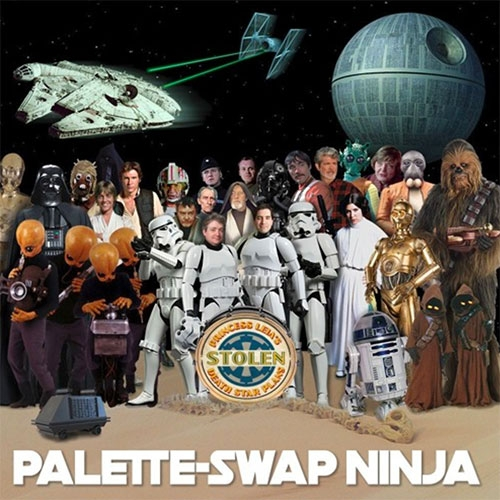 Palette Swap Ninja: Princess Leia's Stolen Death Star Plans.  The entire Beatles album rewritten to tell the story of Star Wars: A New Hope — in order. Celebrating the big anniversaries of both Star Wars and Sgt. Pepper's Lonely Hearts Club Band.