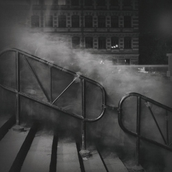 Alexy Titarenko's long exposures date from the early 1990's up to the present, and capture the moody, ghost-filled bustle of the urban Russian landscape.