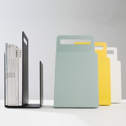 Alfred Magazine Rack is the result of DesignByThem's latest collaboration, this time with Australian industrial designer Seaton Mckeon. Alfred offers a convenient, yet stylish way to organise and store magazines or books.