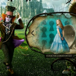The official website for Tim Burton's Alice in Wonderland.