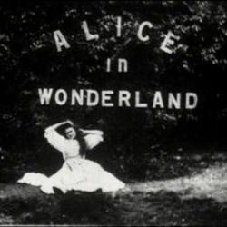 The BFI have released the first ever Alice in Wonderland film, shot in 1903. Lovingly restored it was directed by Cecil Hepworth and Percy Stow.