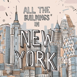 All the Building in New York by Gulliver Hancock is a book cataloging the artist's attempt to draw every building in NYC.