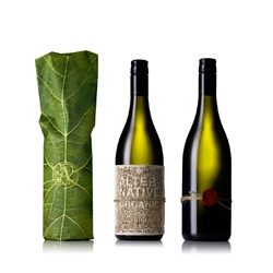 Alternative Organic Wine with great packaging from The Creative Method.