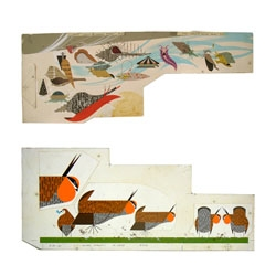 San Francisco's Altman Siegel Gallery features an exhibition of work from Chris Johanson, Charley Harper and Matt Keegan ending February 5th.