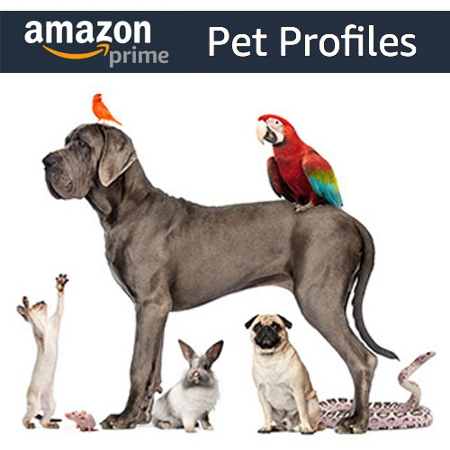 Amazon Pet Profiles - you can now add your pet to your account and they will get their own profile page, discounts, and more?!?! (As Amazon permeates all aspects of our lives, this is an interesting addition.)