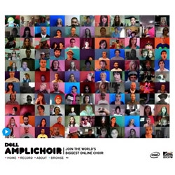 MTV & Dell invites you to join the world's biggest online choir, the Amplichoir. Nice!