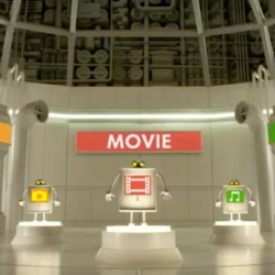 Wes Anderson directed this amazing stop motion animated TV spot for Sony Xperia smartphone.
