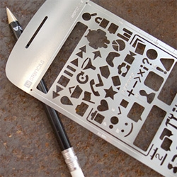 Adorable Android Stencil Kit!