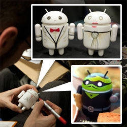 Androids ~ from Andrew Bell customizing blanks into wedding toppers to unboxing details of the new summer collection of heroes and villains ~ and more from SDCC!