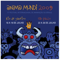Anima Mundi: The largest animation festival in Latin America has started its 17th edition in Rio de Janeiro and São Paulo, Brazil! 2009 Visual identity by Andreas Hykade