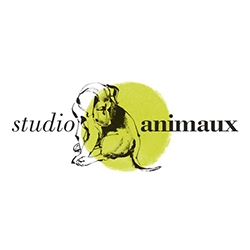 Studio Animaux launches today - beautiful prints and delicious canine goodies from illustrator Natalya Zahn. And look! It's our NOTpuppy Bucky in the logo!